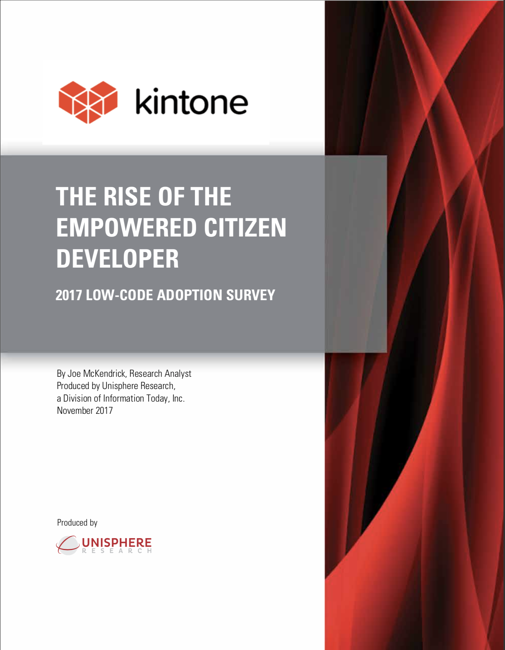 Citizen Developer Report - Kintone-Unisphere.png