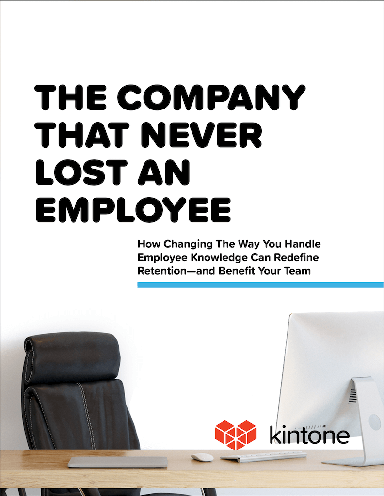 The Company That Never Lost An Employee - Kintone Corp